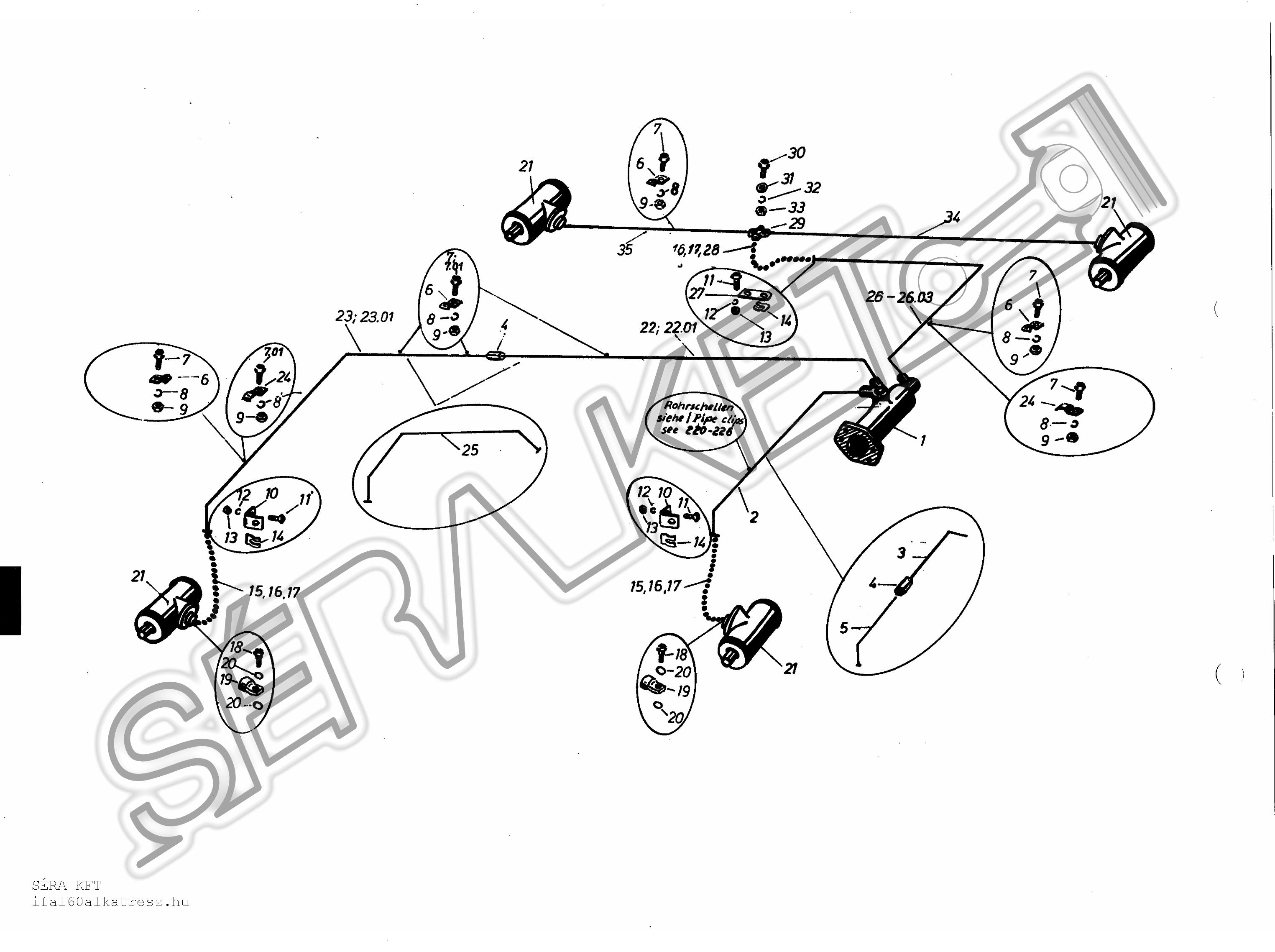 block diagram of hydraulic brake system 3