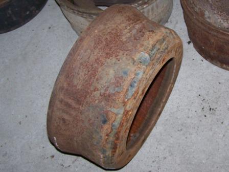 Fékdob első tengelyre, bontott, 404-406mm, IFA L60