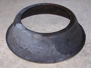 Hátsó kerékagyhoz olajvető lemez, porvédő, bontott, IFA L60