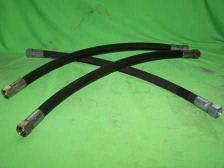 Hidraulikatömlő billentőhengerre, (2xM18x1,5x500mm), IFA L60