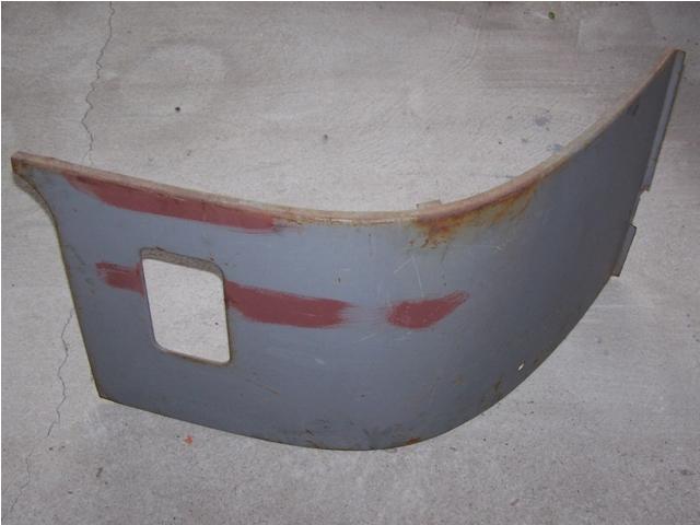 Body element - left heating, IFA W50