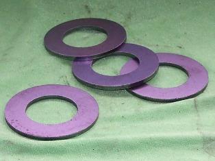 Rugócsapszeghez hézagoló alátét, 3mm, IFA L60