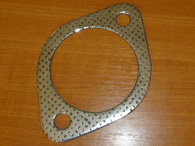 Kipufogódob tömítés, hátsó, kicsi, fémes, IFA L60