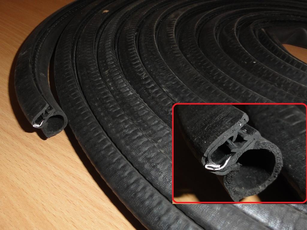 Ajtó tömítés, profilgumi, utángyártot, IFA W50-L60