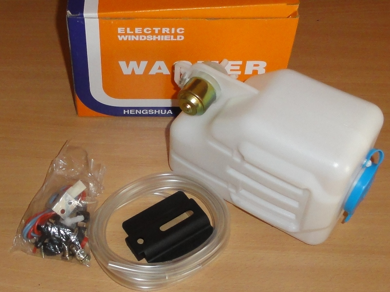 Ablakmosó komplett, kicsi, HS-102, 12V , IFA W50