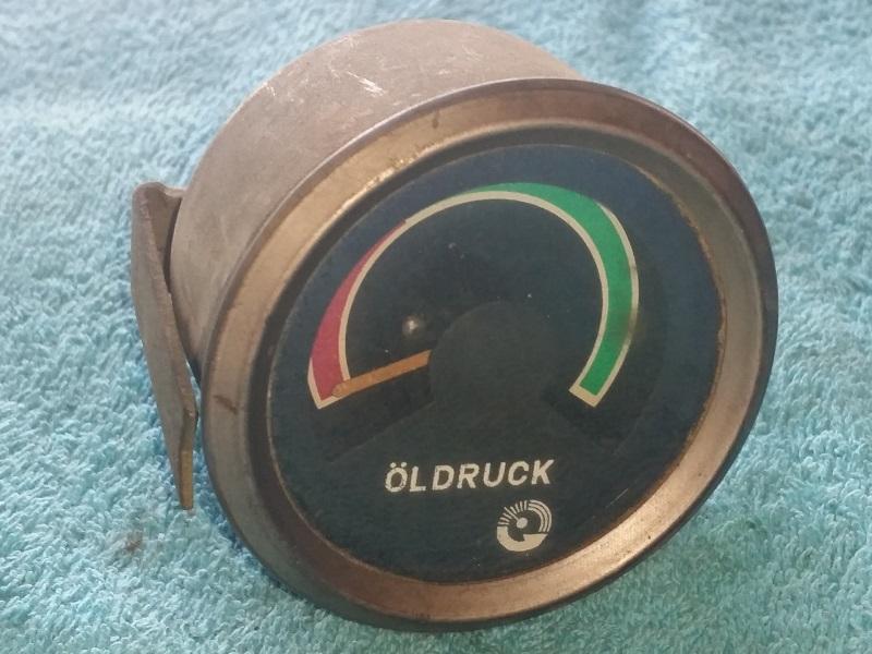 Olajnyomásmérő óra, bontott, IFA W50-L60