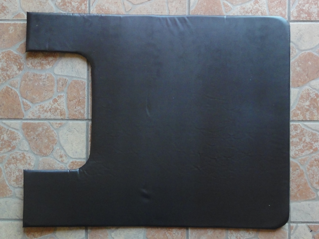 Tetőkárpit felső, bal, civil, fekete, IFA W50-L60