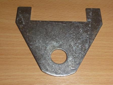 Rugóhézagoló közbetét, hátsó rugó, hátsó bak, H alak, IFA W50