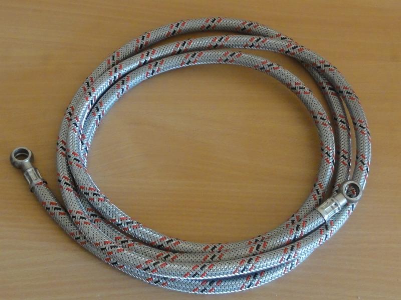 Üzemanyagcső flexibilis, szemes-szemes, 3000mm, IFA W50