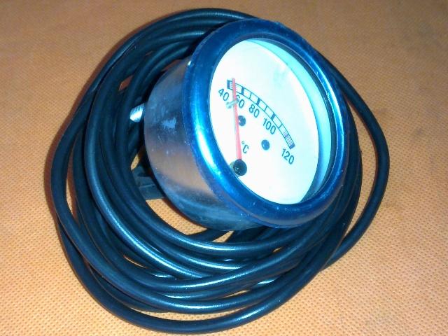 Vízhőmérő óra mechanikus, hőszálas, fehér (2,5m)